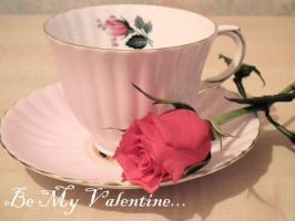 Valentine 2013: Rose Tea by SoulCanvas