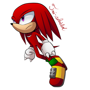 Knuckles Project by Tri-shield