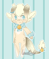 Custom Vanilla Bean Candy Cutie by LizardBat