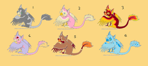 Free Gryphon Adoptables by Zoetron