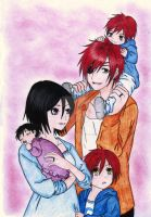 LaviRuki - Complete family by AngyValentine
