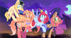 Happy Halloween! by Renaifoxi