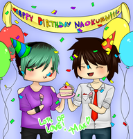 Happy Birthday Naokunn!! by Maximum-Delusion