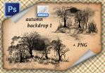 Autumnal Backdrop1 by roula33