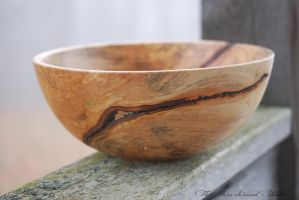 Maple Bowl Print by TheHeartwoodStudio
