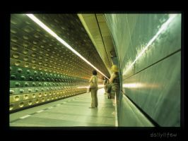 prague6 - subway station - by dailylifew