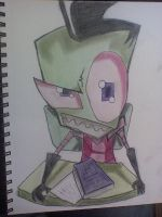 Invader Zim by AbortionBinReject