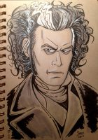 Sketchbook: Sweeney Todd by AtlantaJones
