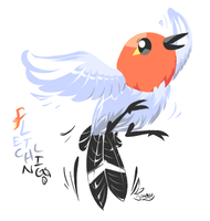 Fletchling by FauxyBeast