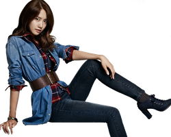 [Render] Yoona SPAO#2 by HanaBell1