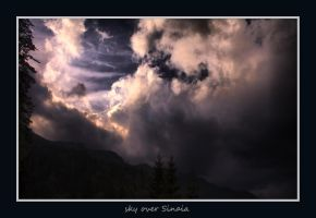 sky over sinaia by seraphRo