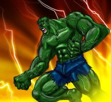 Incredible Hulk by conquerorsaint