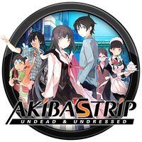 Akiba's Trip - Undead & Undressed Icon v2 by andonovmarko