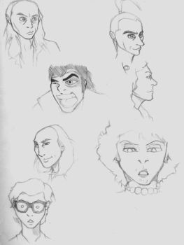 RHPS: facial expressions by Madman86