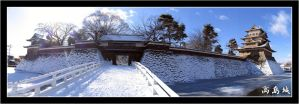 Takashima Castle 02 by Keith-Killer