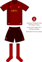 Arkantyr FC - Home Football Kit 2012 by SixthCircle