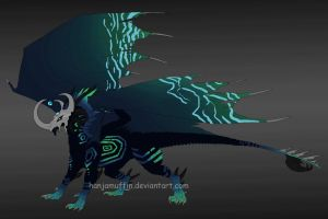 Inooxian WARLORD | Rare Dragon Adopt | SOLD by Hanjamuffin