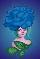 Blue Rose by alexa-asta