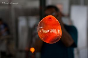 Glass blowing demonstration by dllavaneras