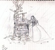 Princess at the Well sketch by anelphia