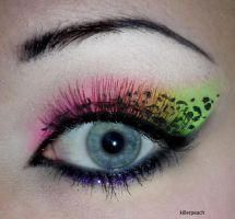 Neon Glitter Leopard I by killerpeach94