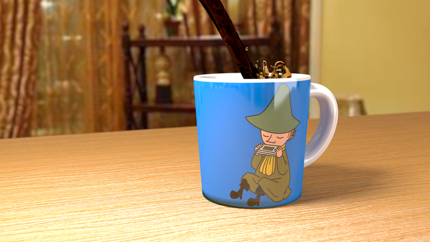 Snufkin Cup by lolcat32