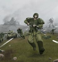 Wh40K: Cadian Charge by StugMeister