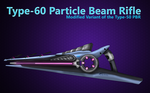 Type-60 Particle Beam Rifle by HWPD