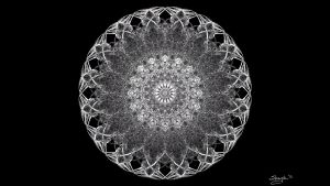 Skeletal Mandala by shaych03