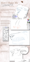 How I make my Lineart by Grypwolf