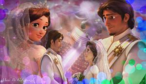 Tangled Ever After Wedding by x12Rapunzelx