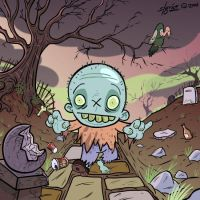 Dirt Zombino by sweetlygrotesque