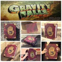 Gravity Falls book 3 prop by GirlyGamerAU