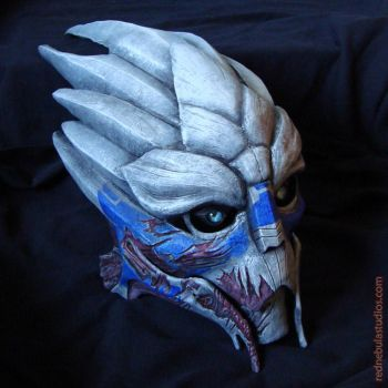 Turian Mask, Garrus variant by Nightlyre