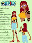 My One Piece OC: Tina D. Clair by DragonLord99