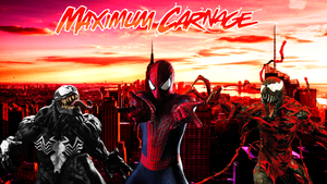 Spider-Man and Venom Maximum Carnage Poster #3 by ProfessorAdagio