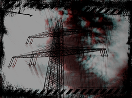 Transmission Tower by OXlDIZER