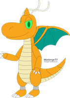 Jett the Robot Dragonite by Masterge77