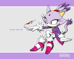 Blaze the Cat - SC by SakuraHaruno1315