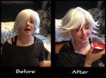 Mizuki wig before and after by Lightofatunnel