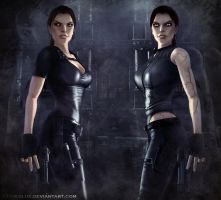 TR Lara and Doppelganger 8 by typeATS