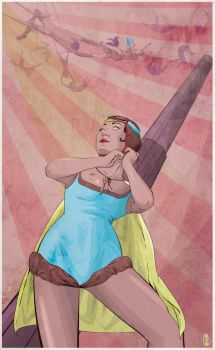 The Cannonball Lady by cryssy