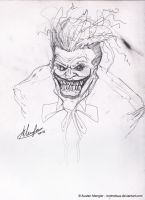 Joker pencils by LordNetsua