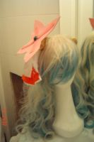 Nia's wig with finish hairpin by Die-Rose