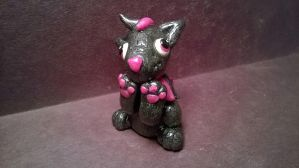 Pink And Grey Wolf 1 by Tiffanime1