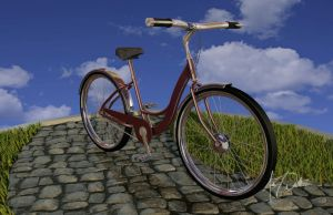 Explorations in 3D: Bicycle by ehdoubleyou