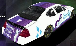 Rarity Nascar - Back by Framwinkle