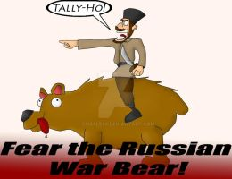The Mighty War Bear by charle88
