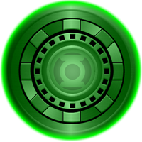 Green Lantern Iron Man Arc Reactor by KalEl7