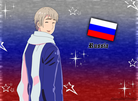 Russia Vector by CamelieMimika